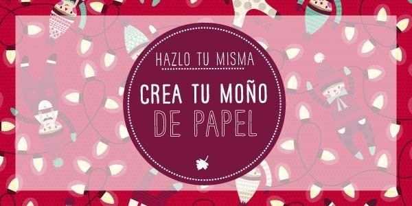 Crea tu moño de papel!!