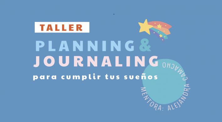 Taller Planning & Journaling para cumplir tus sueños